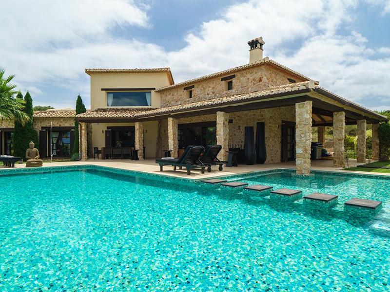 Villa de luxe avec vues impresionantes à Béniarbeig – Dénia